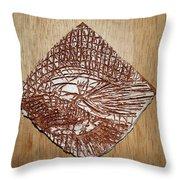 Strike - Tile Throw Pillow