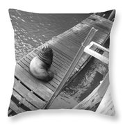 Strike A Pose Throw Pillow