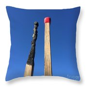 Strike It Throw Pillow