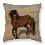 Striking A Pose Throw Pillow by Nicole Markmann Nelson