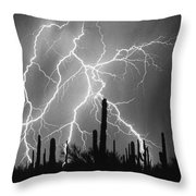 Striking Photography In Black And White Throw Pillow