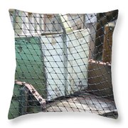 String Cage Throw Pillow