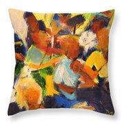 String Section Throw Pillow