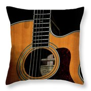 Strings Of My Heart... Throw Pillow