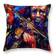 Strings Of Swing Throw Pillow