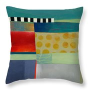 Stripe Assemblage 2 Throw Pillow