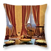 Striped Room Throw Pillow