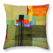 Stripes And Dips 1 Throw Pillow