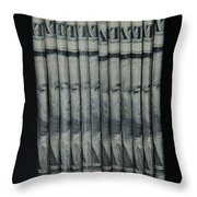 Stripper Stack Throw Pillow