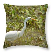 Stroll Thru The Grass Throw Pillow