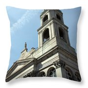 Strong And Tall Throw Pillow
