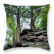 Strong Roots Throw Pillow