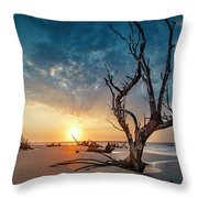 Strong Tree Throw Pillow