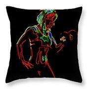 Strong Women 6 Throw Pillow