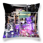 Strontium Atomic Clock Throw Pillow
