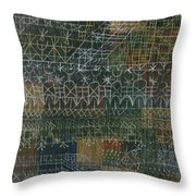 Structural I Throw Pillow