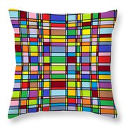 Structure 103 Throw Pillow