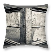 Structure - I Throw Pillow