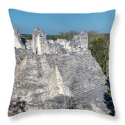 Structure Nine In Becan Throw Pillow