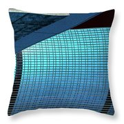 Structures East 2 Throw Pillow