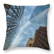 Structures Of Nyc 6  Throw Pillow