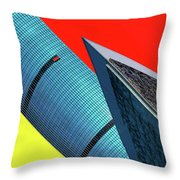 Structures Tilted Throw Pillow