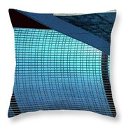 Structures West 2 Throw Pillow