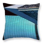 Structures West 3 Throw Pillow