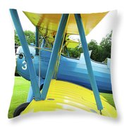 Struts And Wires  Throw Pillow