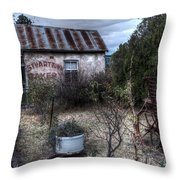 Stuart-town Bakery Throw Pillow