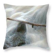 Stuck Digitally Enhanced Throw Pillow
