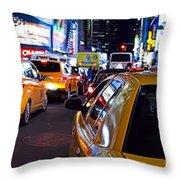 Stuck In Traffic Throw Pillow