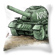 Students Vs The Nra Throw Pillow
