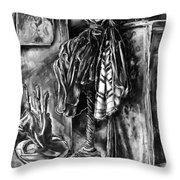 Studio Coatrack Throw Pillow