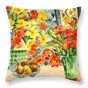 Studio Still Life Throw Pillow