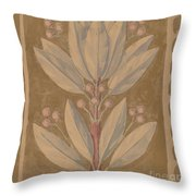 Study For A Border Design [recto] Throw Pillow