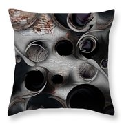 Study For Mystic Reality Throw Pillow