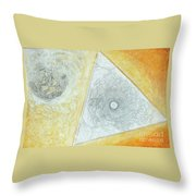 Study For The Voyage Of The Emeralda Throw Pillow