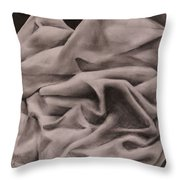 Study In Balance Throw Pillow