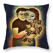 Study To Invention Of Love Throw Pillow