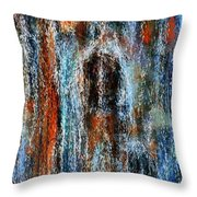 Stump Revealed Throw Pillow