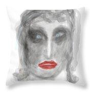 Stunned Throw Pillow