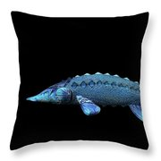 Sturgeon Throw Pillow