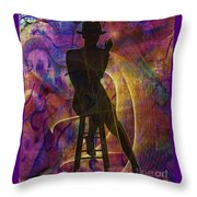 Stylin 3 Throw Pillow by Sydne Archambault