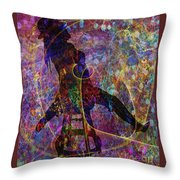 Stylin 4 Throw Pillow by Sydne Archambault