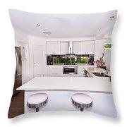 Stylish Modern Kitchen Throw Pillow
