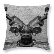 Stylish Stand Pipe Throw Pillow
