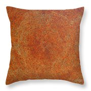 Su Gaia Earth  Throw Pillow