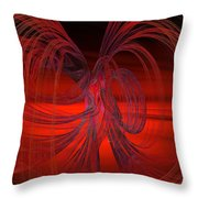 Subatomic Throw Pillow