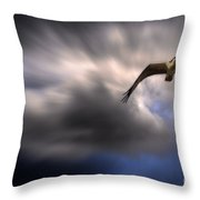 Subconcious Visions Throw Pillow
